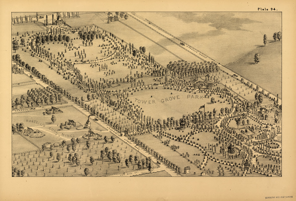 Plate 94 - Tower Grove Park