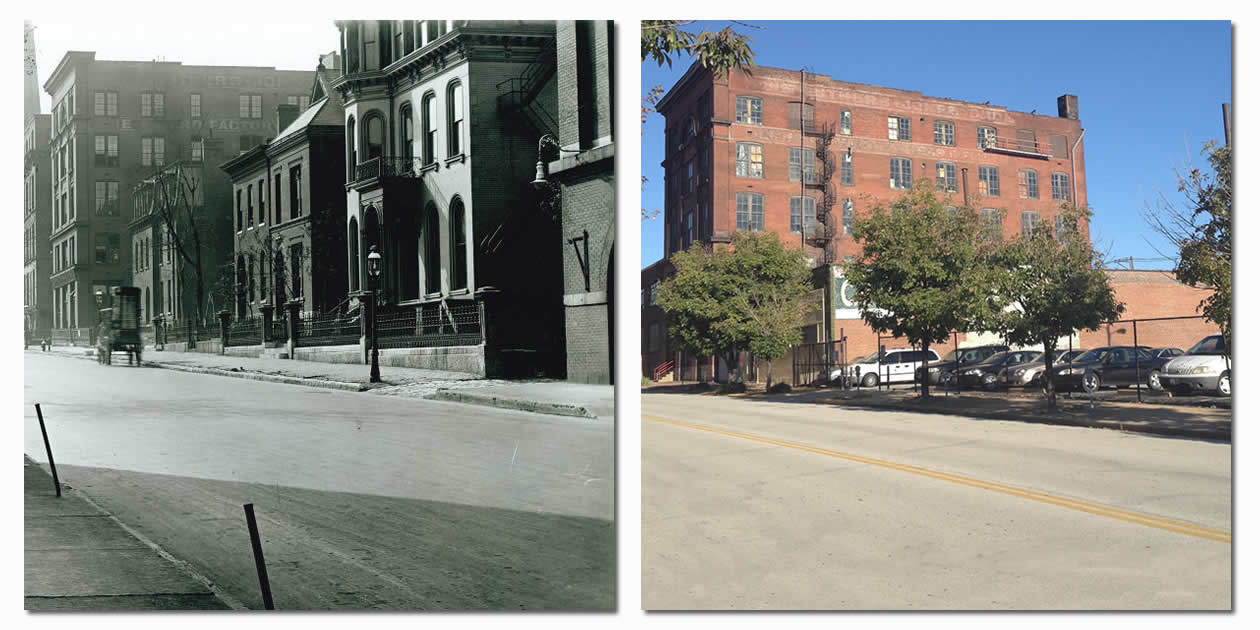 2635 Locust - H.W. Eliot Home - Then & Now