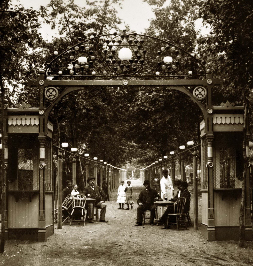 Entrance to Schnaider's Beer Garden