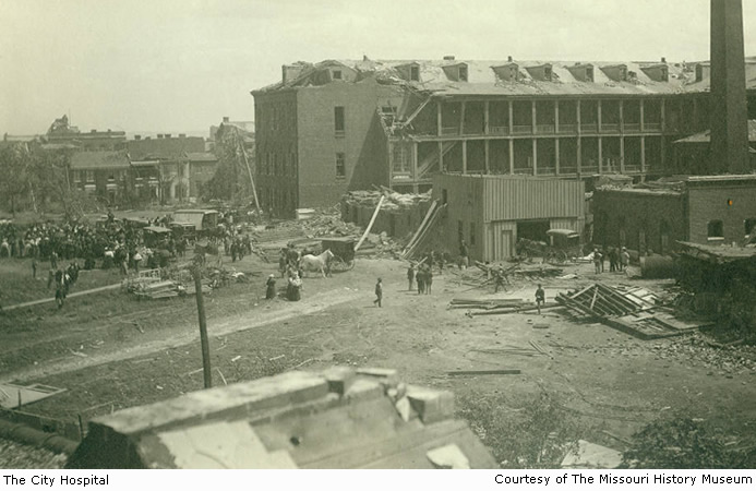 The City Hospital after the tornado