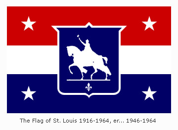 St. Louis Flag 1916-1946