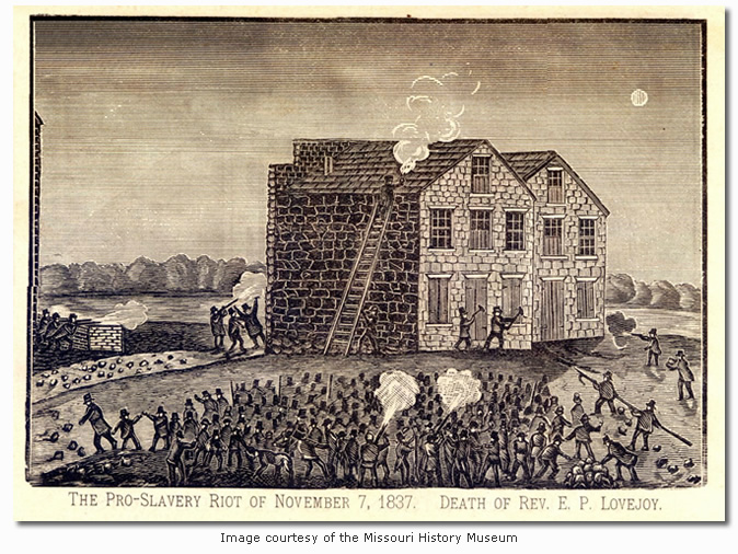 The Pro-Slavery Riots at Alton