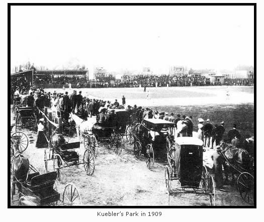 Kuebler's Park in 1909
