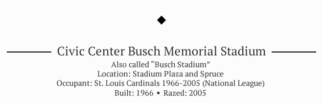 Busch Memorial Stadium
