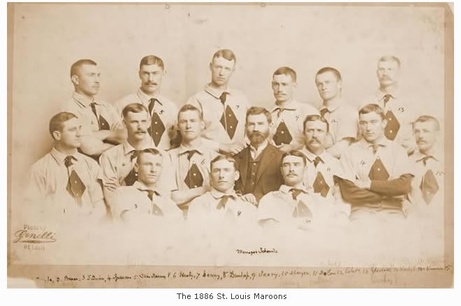 The 1886 St. Louis Maroons