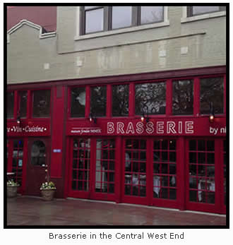 Brasserie in the Central West End