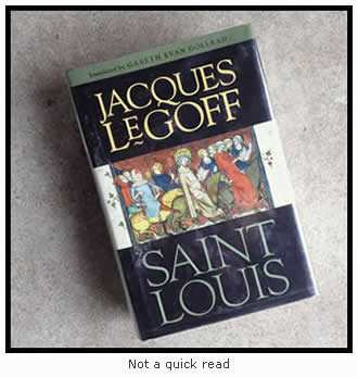 Saint Louis by Jacques LeGoff