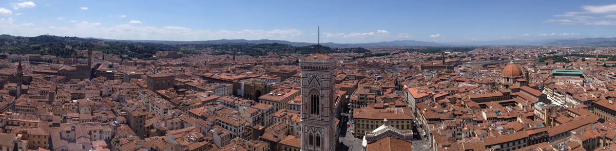 Panorama from Brunelleschi's Dome