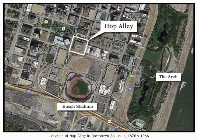 Hop Alley Map