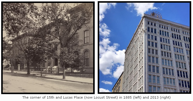 Then & Now: The Corner of 15th and Locust