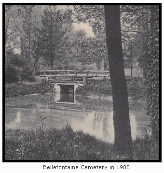 Bellefontaine Cemetery in 1900