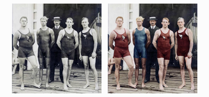 1904 Olympic Swimmers