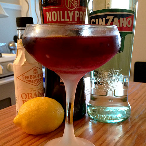 The Sufragette Cocktail