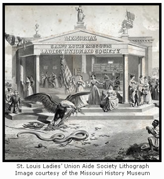 St. Louis Ladies' Union Aid Society Lithograph
