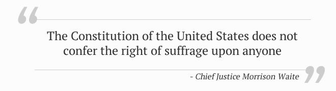 Chief Justice Morrison Waite Quote