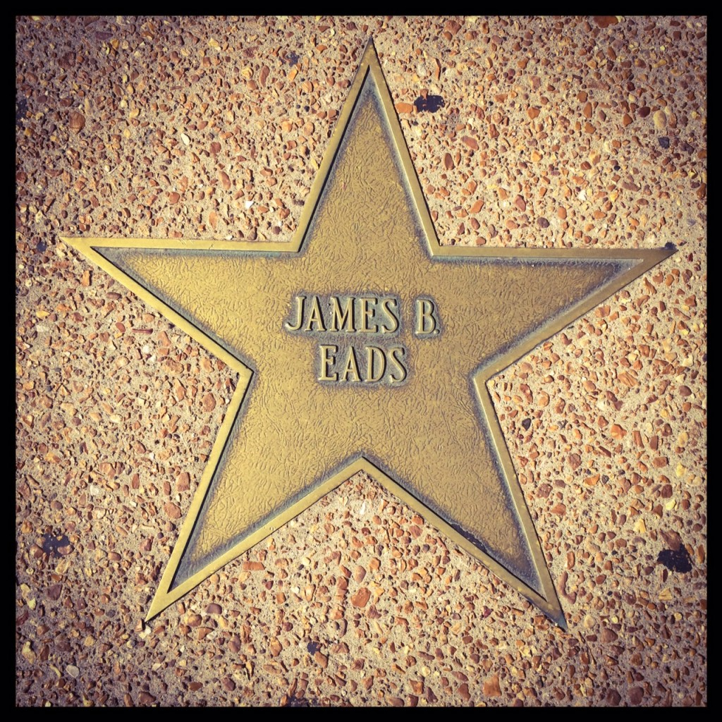 James Eads on the St. Louis Walk of Fame