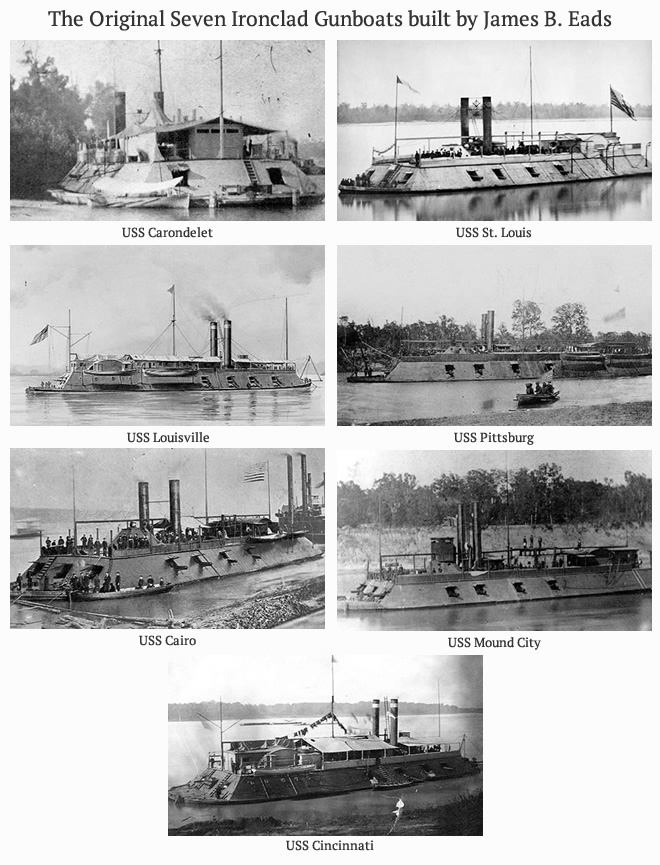 The Original Seven Gunboats