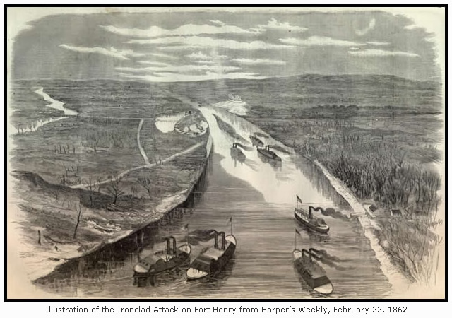 The Attack on Fort Henry