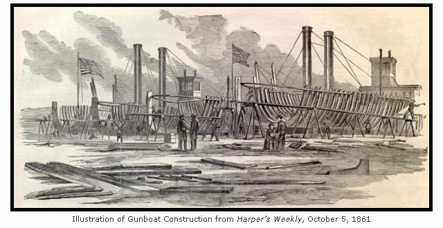 Union Iron Works in Harper's Weekly