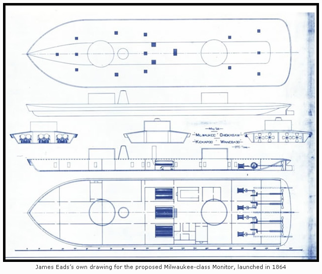Eads's Drawing for the Milwaukee