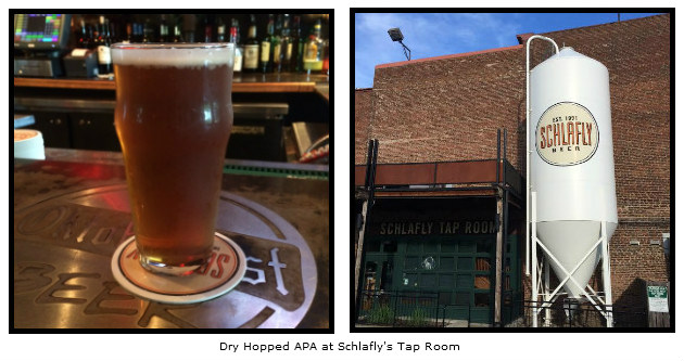Dry Hopped APA at Schlafly's Tap Room