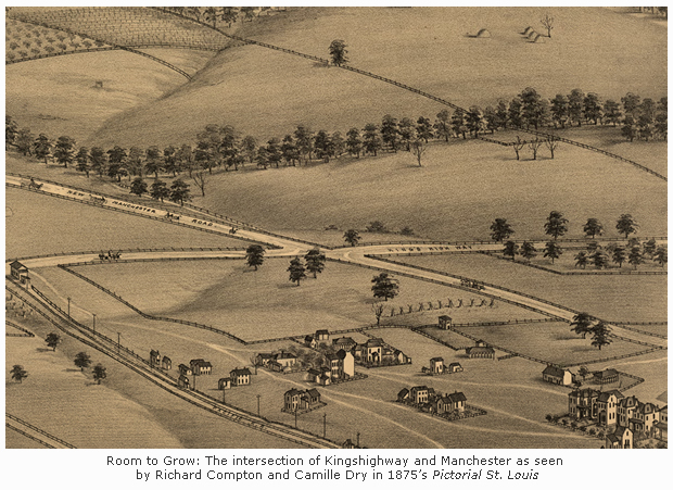 Kingshighway in 1875