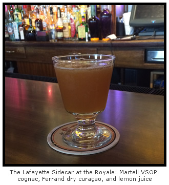 The Lafayette Sidecar