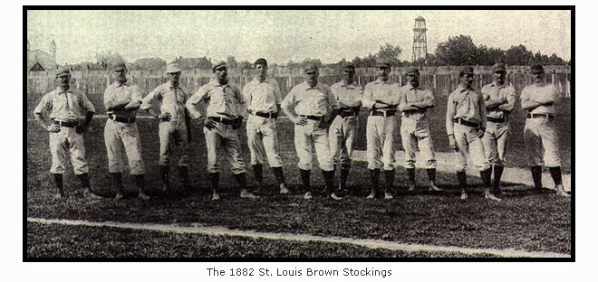 1882 St. Louis Brown Stockings