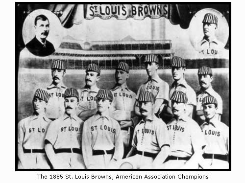 The 1885 St. Louis Browns