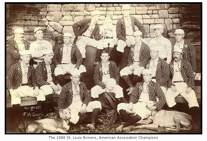 The 1888 St. Louis Browns