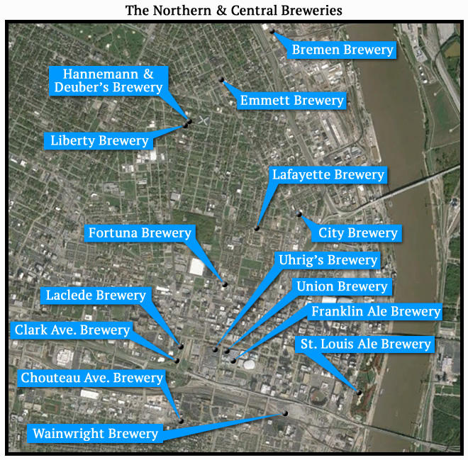 The Northern & Central Breweries
