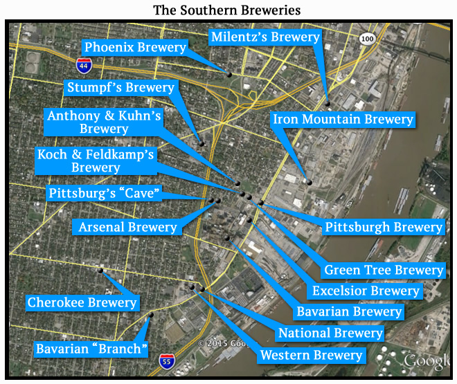 The Southern Breweries