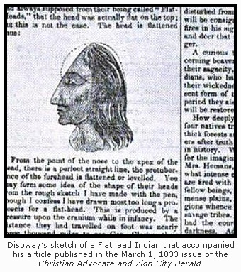 """Flathead"" Indian Illustration"