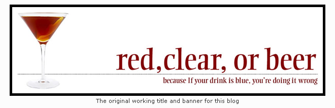 Red, Clear, or Beer