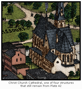 Christ Church Cathedral on Plate 42