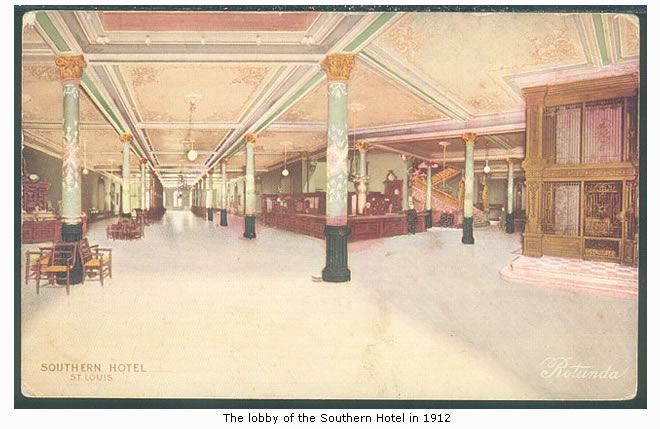 The Southern Hotel in 1914