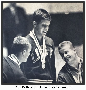 Dick Roth at the 1964 Tokyo Olympics