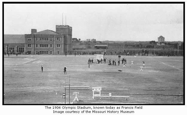 The 1904 Olympic Stadium