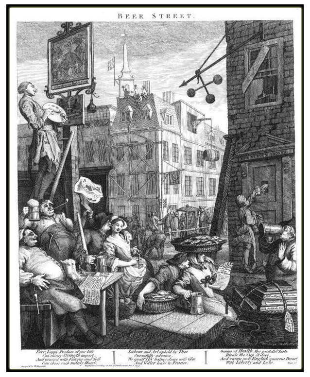 William Hogarth's Beer Street
