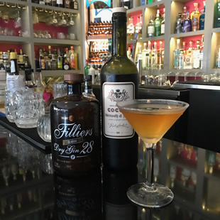 Fillier's Martini at the Gin Room