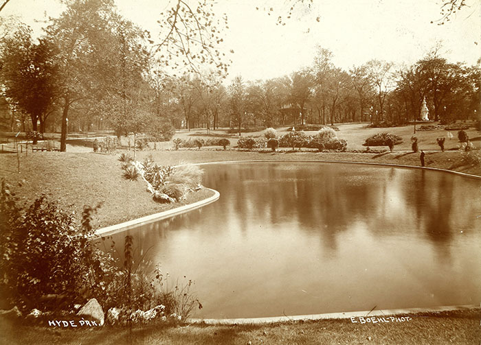 Hyde Park in 1890