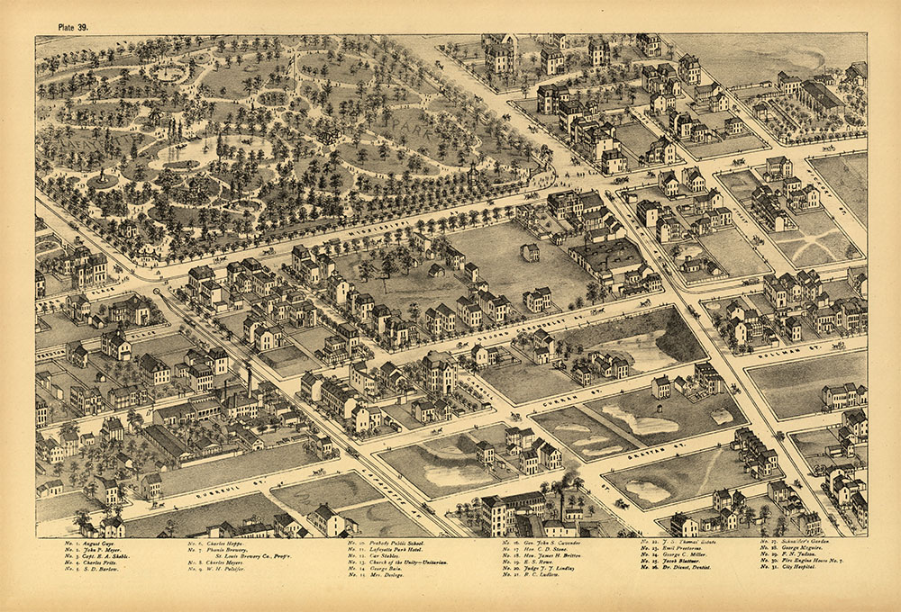 Pictorial St. Louis Plate 39